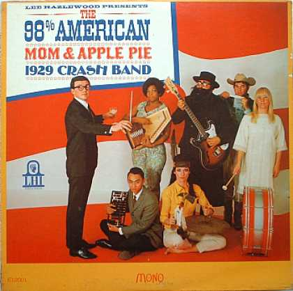 Weirdest Album Covers - 98% American Mom & Apple Pie 1929 Crash Band