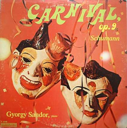 Weirdest Album Covers - Sandor, Gyorgy (Carnival, Op. 9 - Schumann)