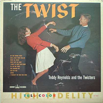 Weirdest Album Covers - Reynolds, Teddy & The Twisters (The Twist)