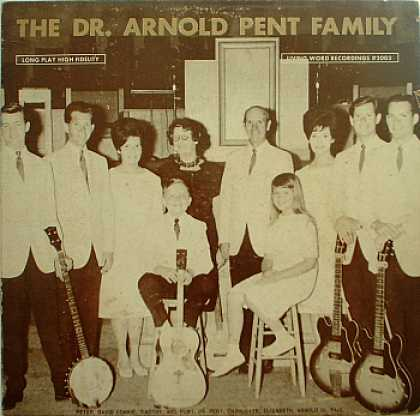 Weirdest Album Covers - Pent, Dr. Arnold Family (self-titled)