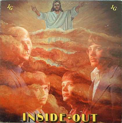 Weirdest Album Covers - Jesus Generation (Inside Out)