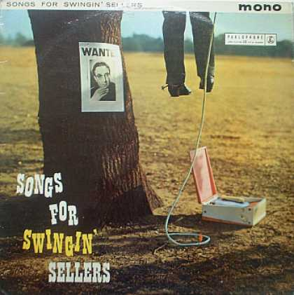 Weirdest Album Covers - Sellers, Peter (Songs For Swingin' Sellers)