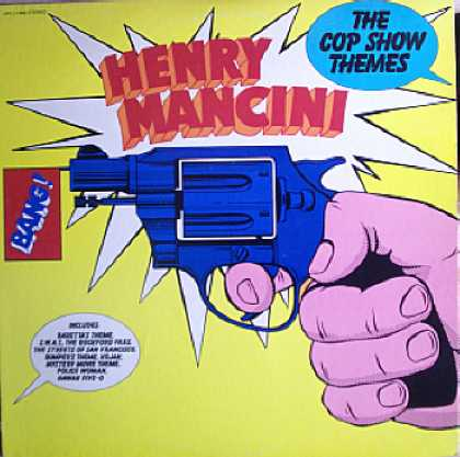 Weirdest Album Covers - Mancini, Henry (Cop Show Themes)