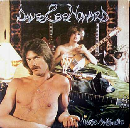 Weirdest Album Covers - Howard, Dave Lee (Marie Antoinette)