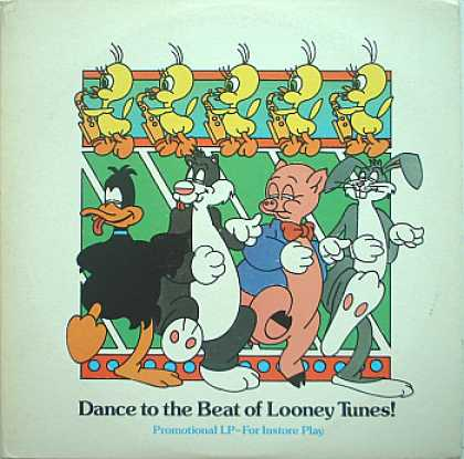 Weirdest Album Covers - Dance To The Beat Of Looney Tunes