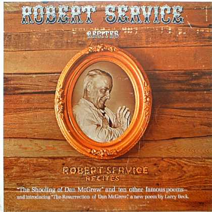 Weirdest Album Covers - Service, Robert (Robert Service Recites)