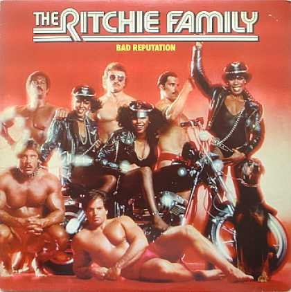 Weirdest Album Covers - Ritchie Family (Bad Reputation)