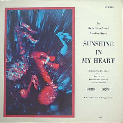 Weirdest Album Covers - Mexia State School For The Mentally Retarded (Sunshine In My Heart)