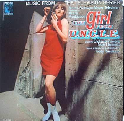 Weirdest Album Covers - Girl From Uncle