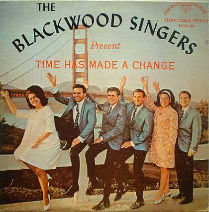 Weirdest Album Covers - Blackwood Singers (Time Has Made A Change)