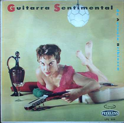 Weirdest Album Covers - Bribiesca, Antonio (Guitarra Sentimental)