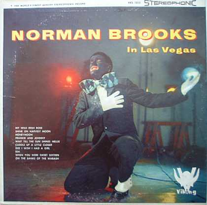 Weirdest Album Covers - Brooks, Norman (In Las Vegas)