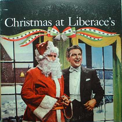 Weirdest Album Covers - Liberace (Christmas At Liberace's)