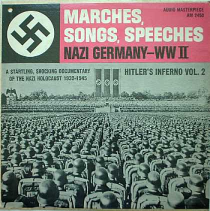 Weirdest Album Covers - Hitler's Inferno (Vol 2) - Marches, Songs, Speeches