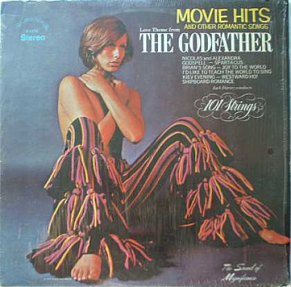 Weirdest Album Covers - 101 strings (Godfather)