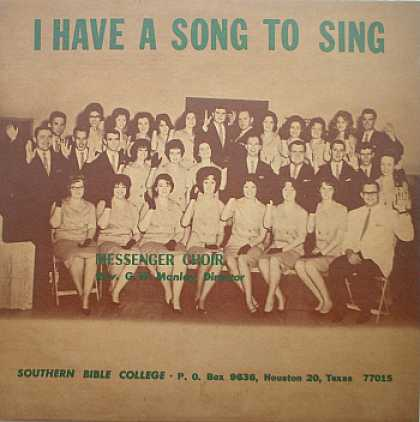 Weirdest Album Covers - Messenger Choir (I Have A Song To Sing)