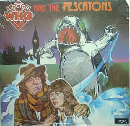 Weirdest Album Covers - Dr. Who & The Pescatons