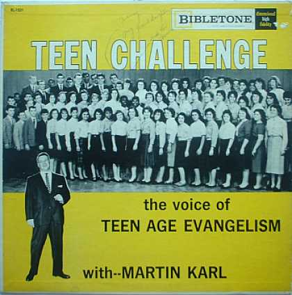 Weirdest Album Covers - Karl, Martin (Teen Challenge)