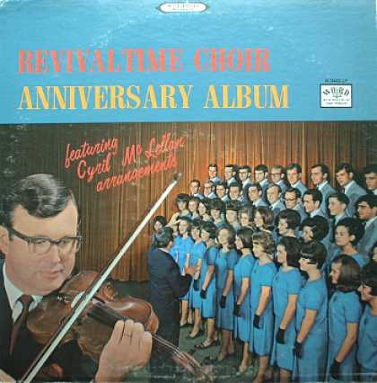 Weirdest Album Covers - Revivaltime Choir (Anniversary Album)