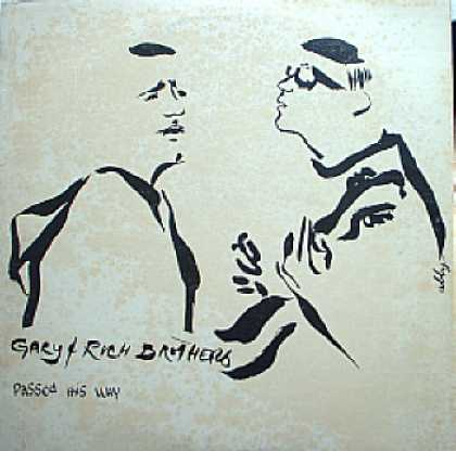 Weirdest Album Covers - Brothers, Gary & Rich (Passed His Way)