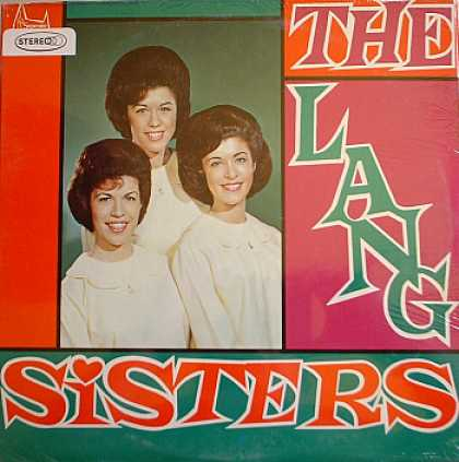 Weirdest Album Covers - Lang Sisters (self-titled)