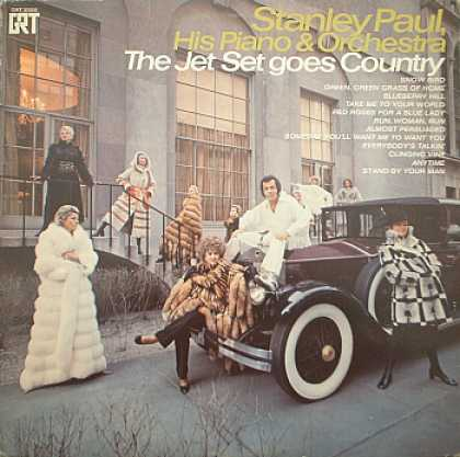Weirdest Album Covers - Paul, Stanley (Jet Set Goes Country)