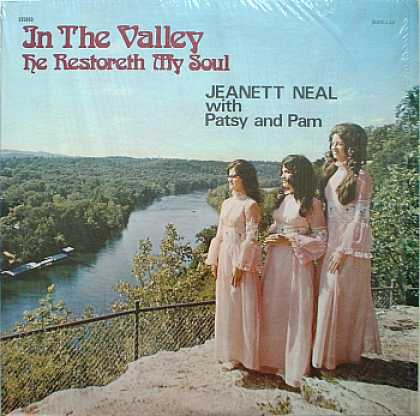 Weirdest Album Covers - Neal, Jeanett (In The Valley He Restoreth My Soul)