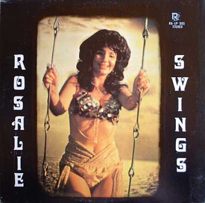 Weirdest Album Covers - Long, Rosalie (Swings)