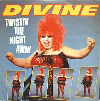 Weirdest Album Covers - Divine (Twistin' The Night Away)