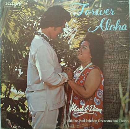 Weirdest Album Covers - Mark & Diane (Forever Aloha)