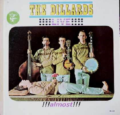 Weirdest Album Covers - Dillards (Live!! Almost!!)