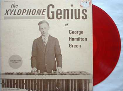 Weirdest Album Covers - Green, George Hamilton (The Xylophone Genius)