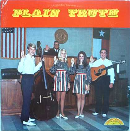Weirdest Album Covers - Plain Truth (self-titled)