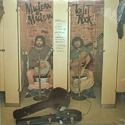 Weirdest Album Covers - MacLean & MacLean (Toilet Rock)