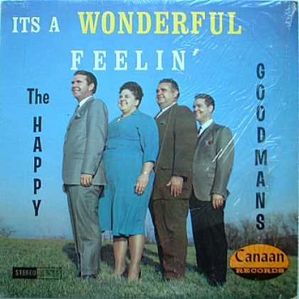 Weirdest Album Covers - Happy Goodmans (It's A Wonderful Feelin')