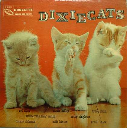 Weirdest Album Covers - Dixiecats (self-titled)