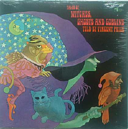 Weirdest Album Covers - Price, Vincent (Tales Of Witches, Ghosts And Goblins)