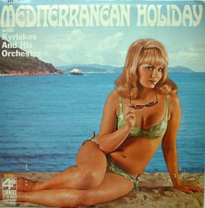 Weirdest Album Covers - Kyriakos (Mediterranean Holiday)