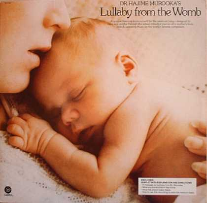 Weirdest Album Covers - Murooka, Dr. Hajime (Lullaby From The Womb)