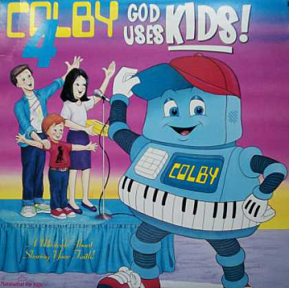 Weirdest Album Covers - Colby (God Uses Kids)