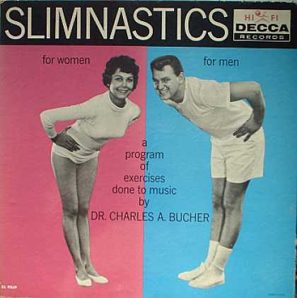 Weirdest Album Covers - Bucher, Dr. Charles A. (Slimnastics)