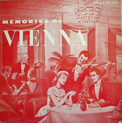 Weirdest Album Covers - Memories Of Vienna