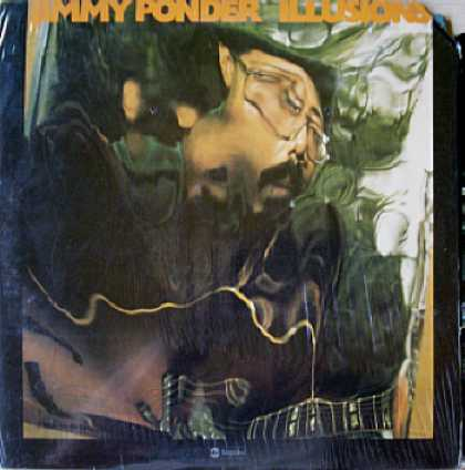 Weirdest Album Covers - Ponder, Jimmy (Illusions)