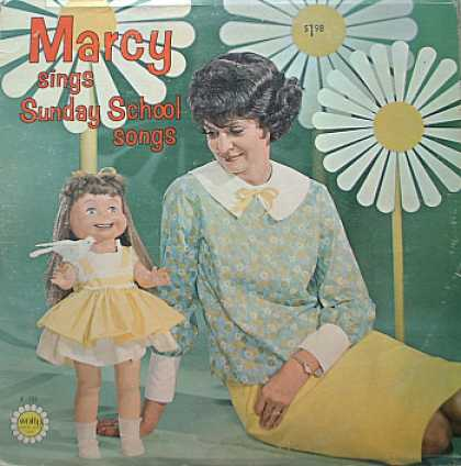 Weirdest Album Covers - Little Marcy (Sunday School Songs)