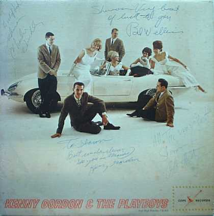 Weirdest Album Covers - Gordon, Kenny & The Playboys (self-titled)