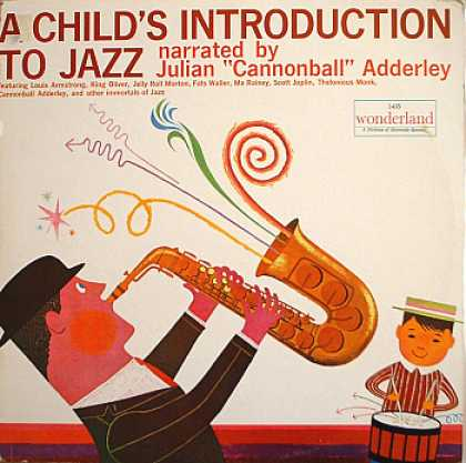 Weirdest Album Covers - Adderley, Cannonball (A Child's Introduction To Jazz)