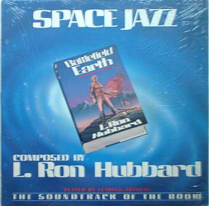 Weirdest Album Covers - Hubbard, L. Ron (Space Jazz)