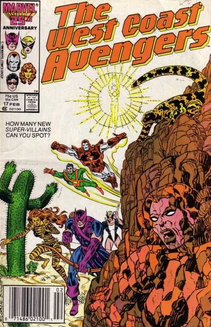 West Coast Avengers 17 - Joe Sinnott