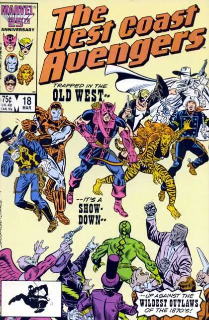 West Coast Avengers 18 - Joe Sinnott