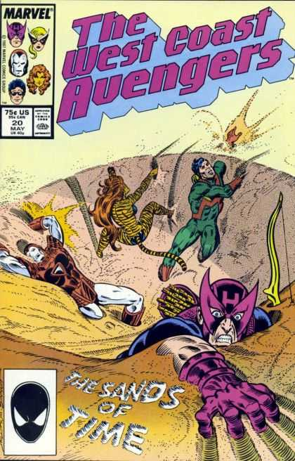 West Coast Avengers 20 - Joe Sinnott